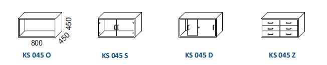 Skrine KS 045