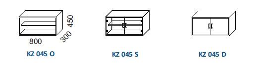 Skrine KZ 045