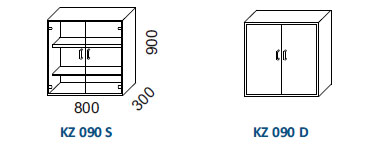 Skrine KZ 090
